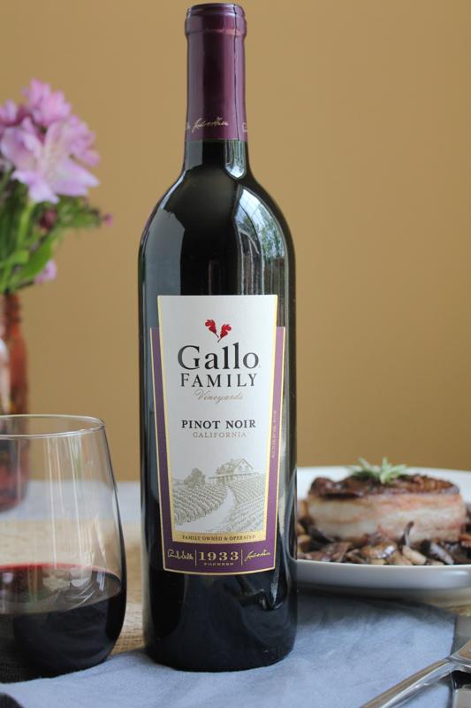 Hip Foodie Mom | Gallo Pinot Noir