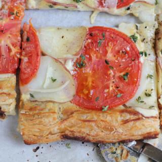 Summer Potato Tomato Tart