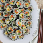 Entertaining with Kimbap and Tips on How to Make Your Own Rolls!