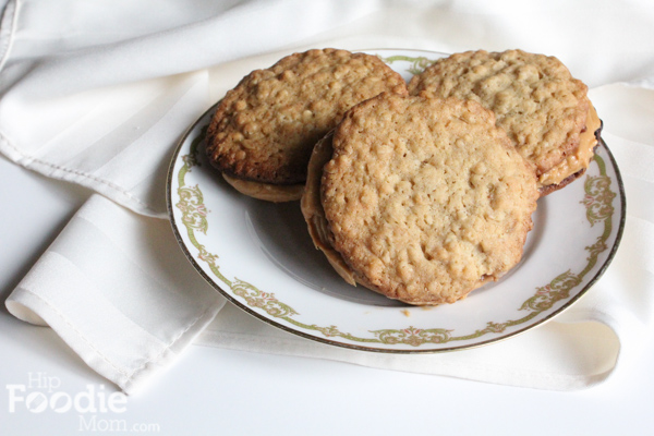 Peanut Butter Cookie Sandwiches by Hip Foodie Mom