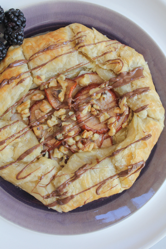 Puff Pastry with Ricotta, Pears and Walnuts_vert