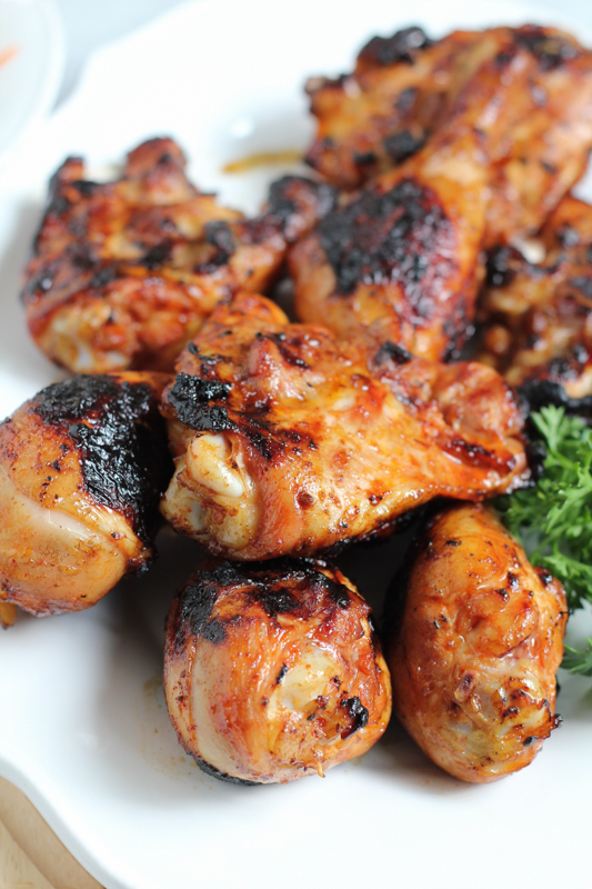 Fire up the barbie! This Spicy Korean Grilled Chicken recipe is delicious! You need this recipe for summer.