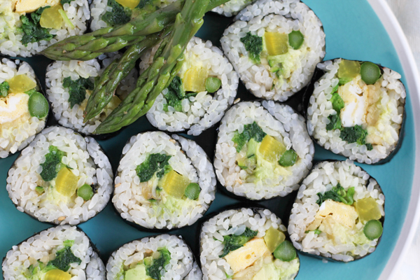 Veggie Roll by Hip Foodie Mom