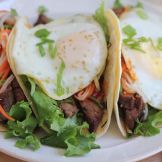 Bibimbap Tacos