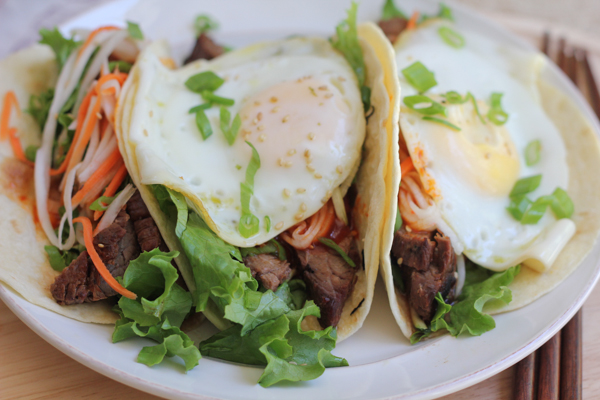Bibimbap Tacos by Hip Foodie Mom_forblog