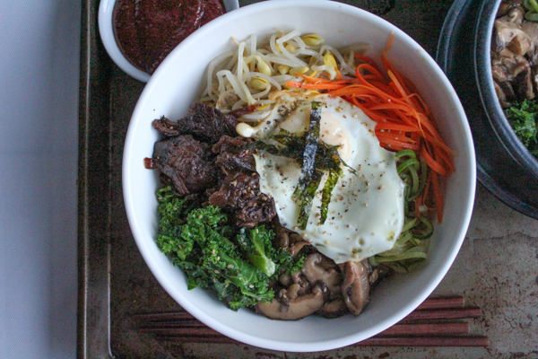 Bibimbap by Hip Foodie Mom