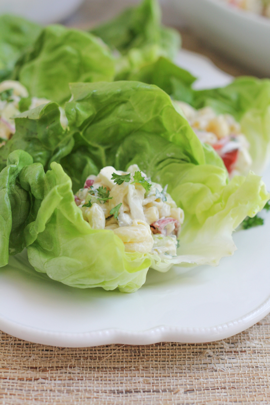 Mac and Cheese Lettuce Cups_vertical