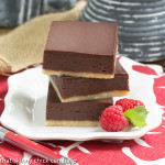 Truffle Brownies from That Skinny Chick Can Bake