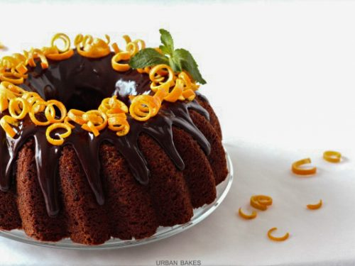 Chocolate Orange Cake From Urban Bakes