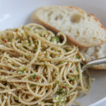 Healthy Whole Grain Pasta with Vegetable Pesto