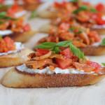 Kimchi Bruschetta