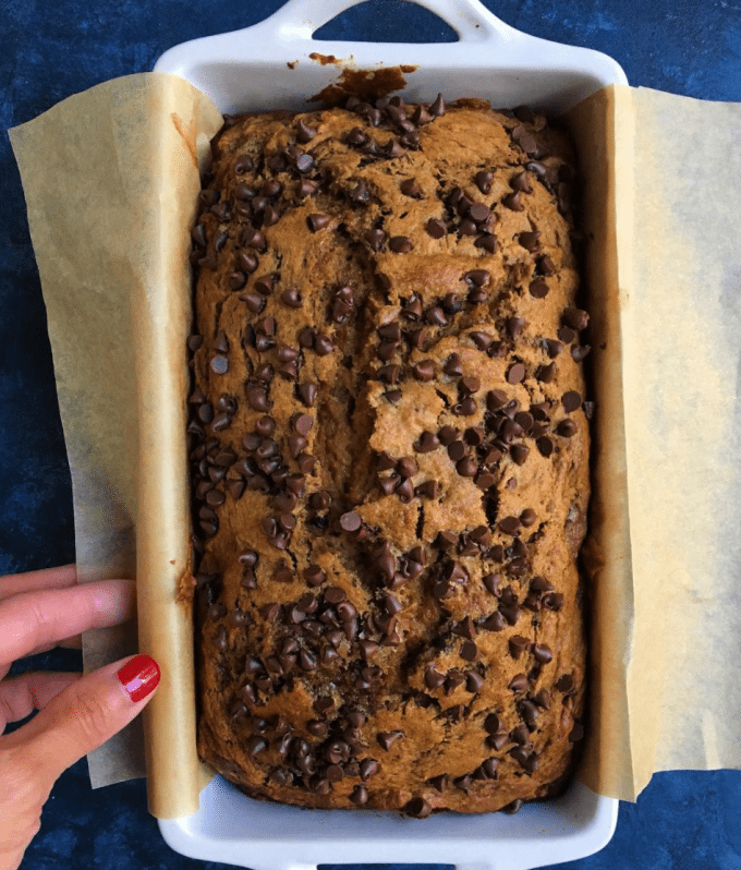 The pumpkin banana bread you have to try recipe with mini chocolate chips forumfinder Gallery