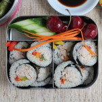 Back to School with Tuna Veggie Rolls