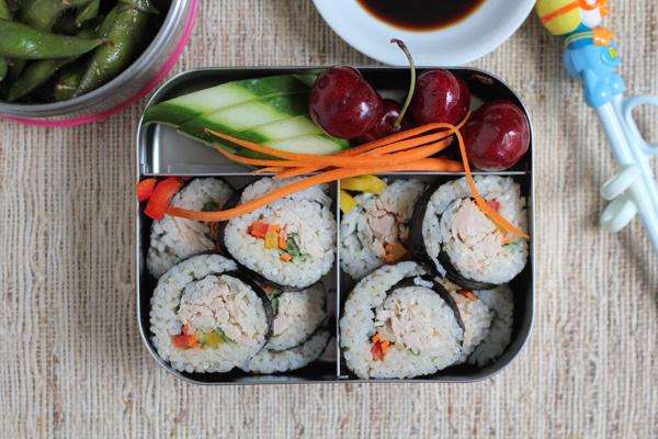 Tuna Veggie Rolls