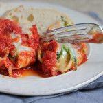 Zucchini and Mushroom Stuffed Pasta Shells