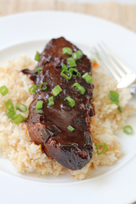 Slow Cooker Spicy Asian Beef Short Ribs by Hip Foodie Mom
