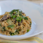 Asian Quinoa with Bok Choy