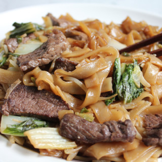 Beef Chow Fun with Boneless Short Rib