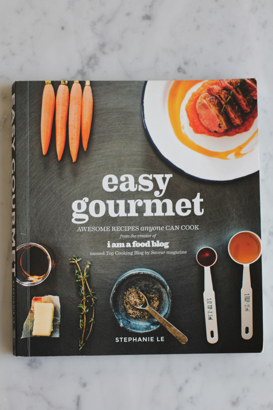 Easy Gourmet Cookbook. . and a giveaway!!