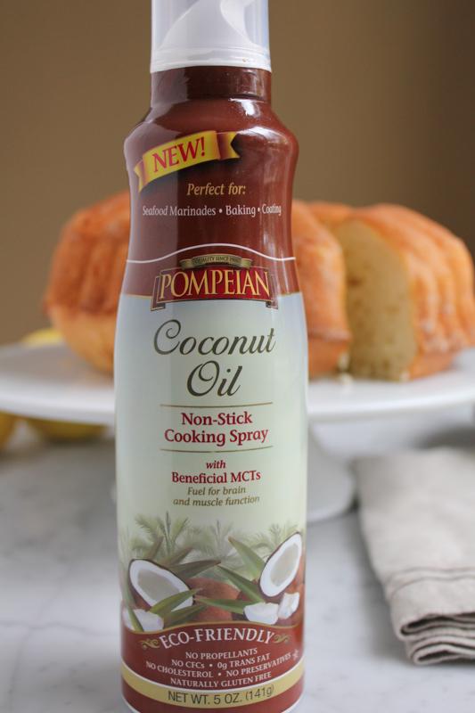 NEW!! Pompeian Coconut Oil Non-Stick Cooking Spray
