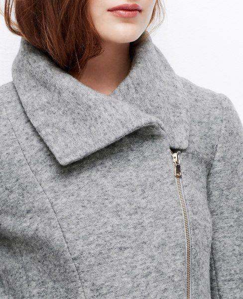 Wool Moto Jacket from Ann Taylor