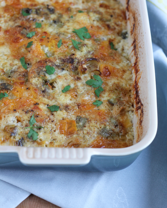 Leek And Fontina Gratin Recipes — Dishmaps