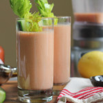 Bloody Mary Smoothies for @WilliamsSonoma Smoothie Week