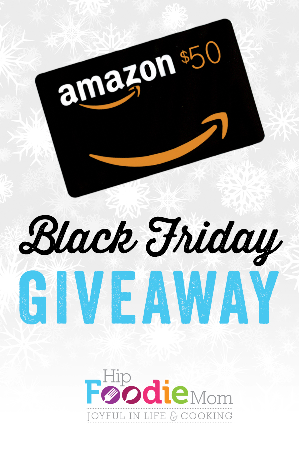 black friday gift card giveaway black friday giveaway 50 gift card to amazon com hip 7542