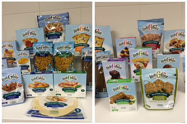 Live Gluten Free Products