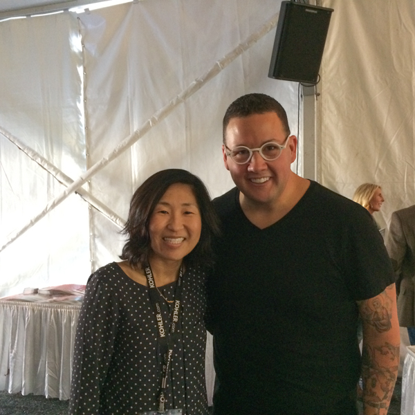 Me and Graham Elliot