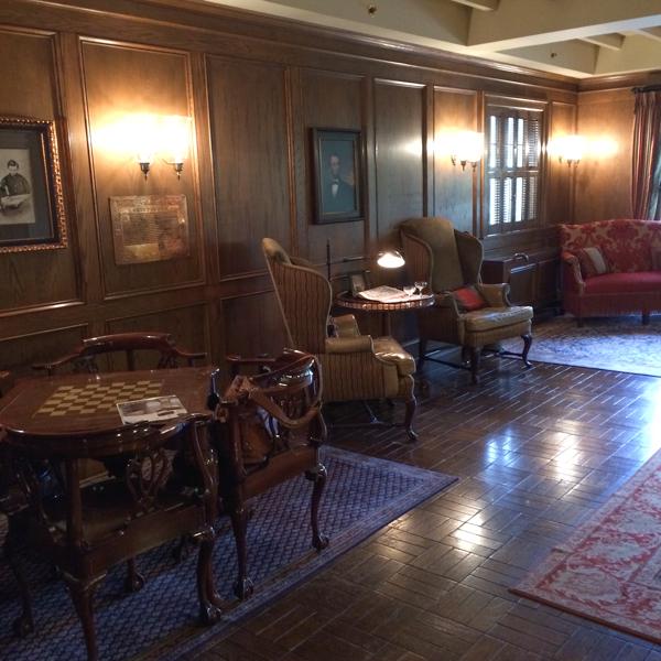 The American Club Lobby