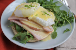 Eggs Benedict with a Delicious and Easy Blender Hollandaise Sauce