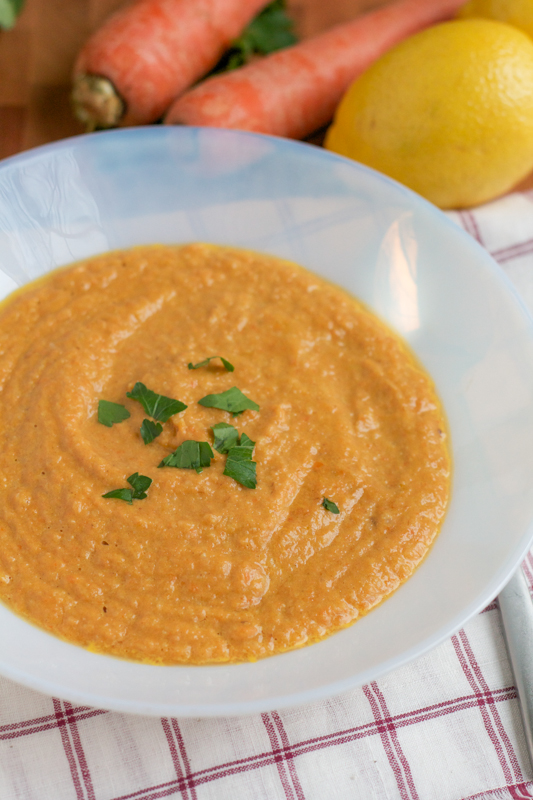 Get this delicious and easy-to-follow blender Curried Carrot Cauliflower Soup recipe. Filled with vegetables, this soup is flavorful, filling and healthy.