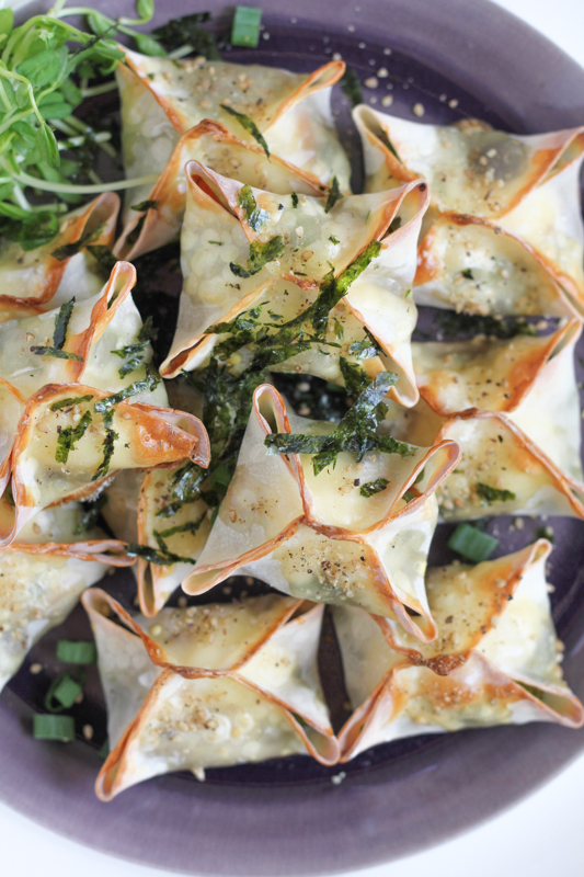 Looking for a great appetizer recipe? Try these fabulous Baked Veggie Wontons!! #appetizer #appetizerrecipe #recipe #newyearseve