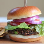 Black Bean Edamame Burgers + The Kitchn Cookbook Giveaway!