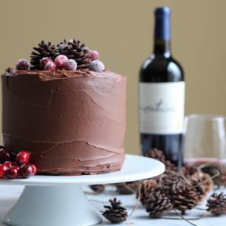 Chocolate Merlot Cake
