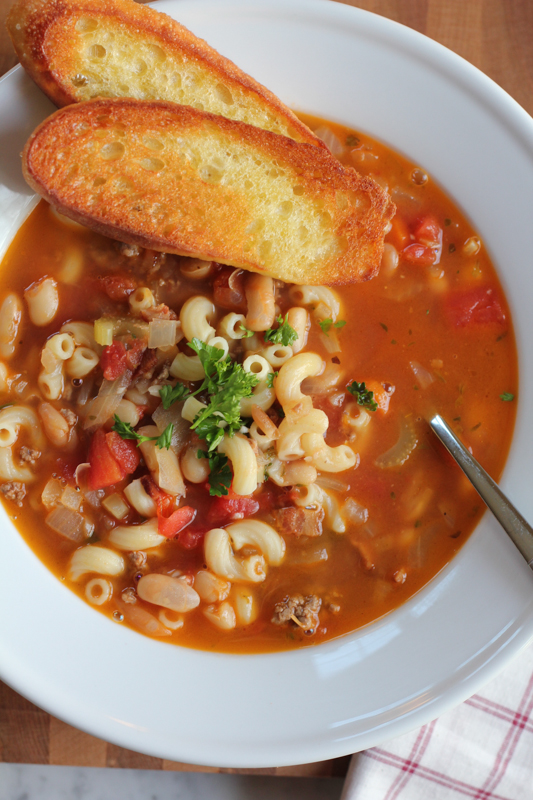 Pasta e Fagioli • Hip Foodie Mom
