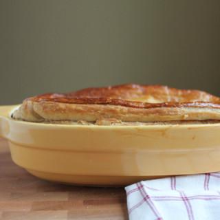 Seasonal Vegetarian Pot Pie