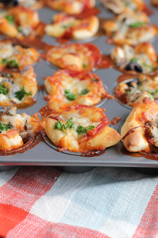 Mini pizza bites tasty and family friendly hip foodie mom quick and easy mini pizza bites your favorite pizza in bite sized goodness forumfinder Gallery