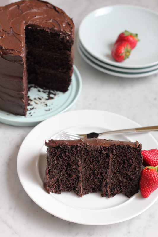 ... top. This is seriously the best chocolate cake. Ever. #valentinesday #