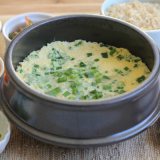 Korean Steamed Eggs for #SundaySupper
