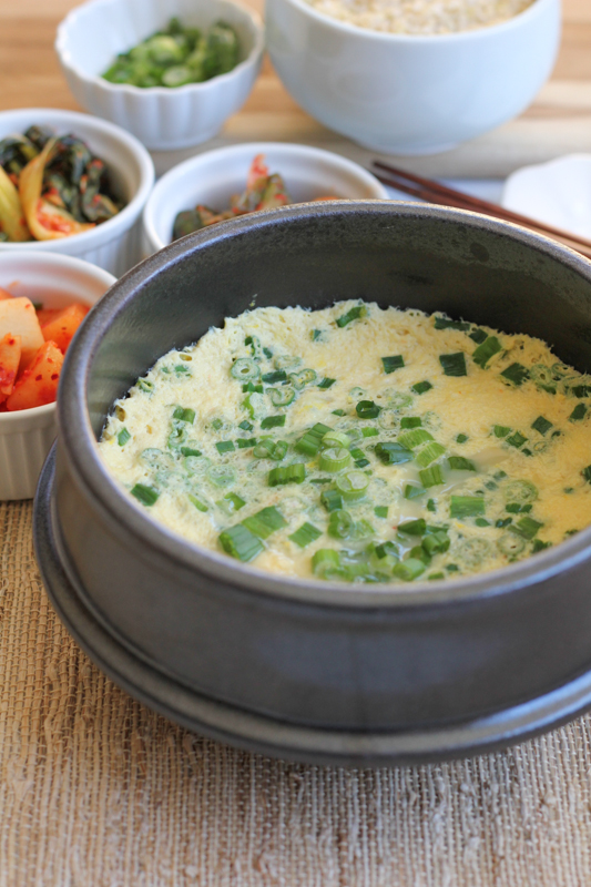Light, fluffy, savory and so delicious! Korean steamed eggs are also extremely easy to make. If you like eggs, you have to try this recipe! Serve with some steamed white rice and kimchi!