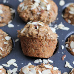 Coconut Almond Flaxseed Muffins