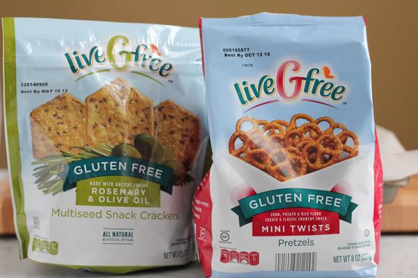 gluten free snacks from ALDI