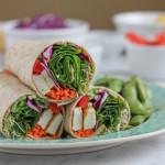 Tofu Spinach Power Wrap