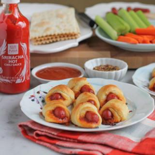 Sriracha Honey Lime Pigs in a Blanket
