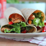 Sesame Chicken Wraps for #WeekdaySupper #McSkilletSauce