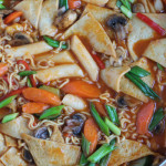 Dukbokki: Korean Spicy Rice Cakes