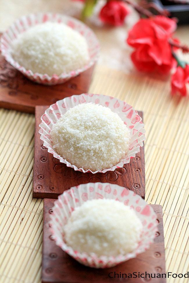 Glutinous Rice Flour Chocolate Cake