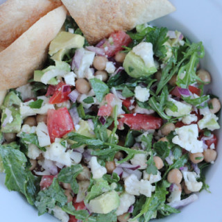 Cauliflower and Chickpea Salad